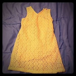 Girls yellow summer dress
